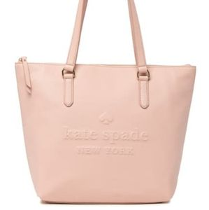 Kate Spade Penny Leather Tote, Warm V…